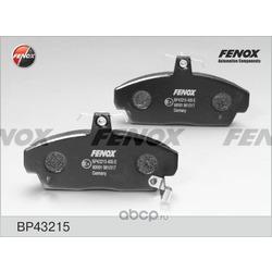 Комплект тормозных колодок, дисковый тормоз (FENOX) BP43215