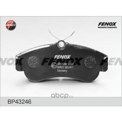 Комплект тормозных колодок, дисковый тормоз (FENOX) BP43246