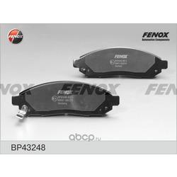 Комплект тормозных колодок, дисковый тормоз (FENOX) BP43248