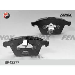 Комплект тормозных колодок, дисковый тормоз (FENOX) BP43277