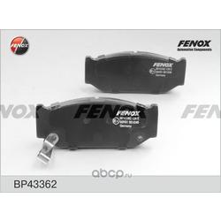 Комплект тормозных колодок, дисковый тормоз (FENOX) BP43362