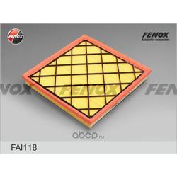 Фильтр воздушный Chevrolet Cruze 09- 1.6, 1.8, Opel Astra J 09- 1.4, 1.6 (FENOX) FAI118