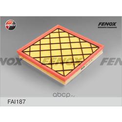 Фильтр воздушный Chevrolet Cruze 09- 1.4, 1.7D, 2.0D, Opel Astra J 09- 1.4, 1.6, 1.6-2.0D (FENOX) FAI187