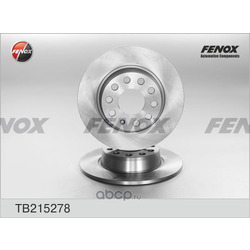 Тормозной диск (FENOX) TB215278