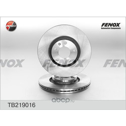 Тормозной диск (FENOX) TB219016