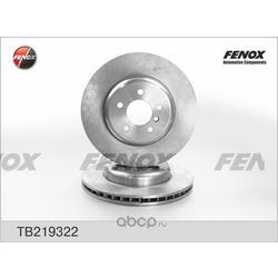 Тормозной диск (FENOX) TB219322
