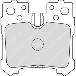 Комплект тормозных колодок, дисковый тормоз (Ferodo) FDB4210