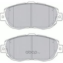 Комплект тормозных колодок, дисковый тормоз (Ferodo) FDB1564