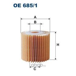 Масляный фильтр (Filtron) OE6856