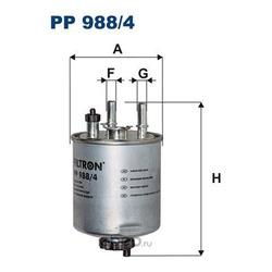 Топливный фильтр (Filtron) PP9884