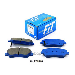 Колодки тормозные дисковые (FIT) FP1543