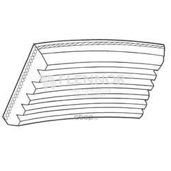 Поликлиновой ремень (Flennor) 6PK1640