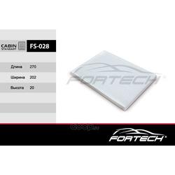 Фильтр салонный (Fortech) FS028