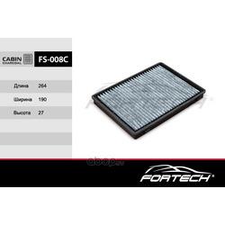 Фильтр салонный угольный (Fortech) FS008C
