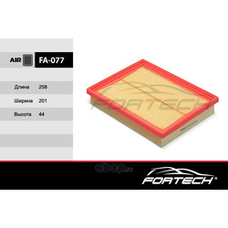 Фильтр воздушный (Fortech) FA077