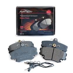 Колодки тормозные передние (Fortech) FB1201F