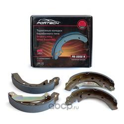 Колодки тормозные задние FB-2202R (Matiz)/10 (Fortech) FB2202R