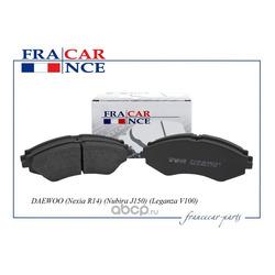 Колодка дискового тормоза перед (Francecar) FCR30B031