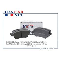 Колодка дискового тормоза (Francecar) FCR210330
