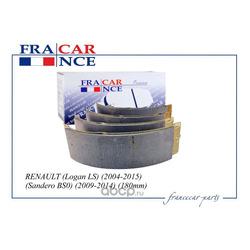 Колодки тормозные барабанные задние (180мм) (Francecar) FCR210333