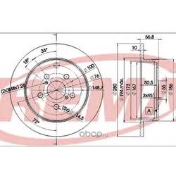 Тормозной диск (FREMAX) BD0503