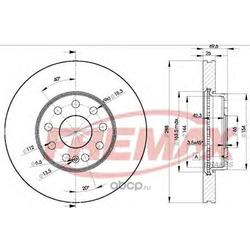 Тормозной диск (FREMAX) BD5615