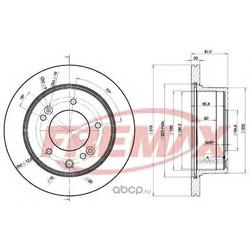 Тормозной диск (FREMAX) BD8411