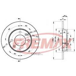Тормозной диск (FREMAX) BD4746