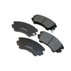 Колодки тормозные дисковые (Friction Master) MKD1404