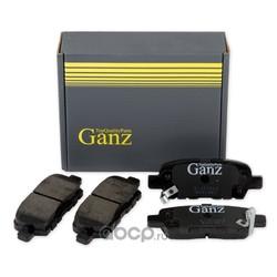 Колодки задние NISSAN/RENAULT/INFINITI (GANZ) GIJ07013