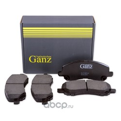 Колодки передние MITSUBISHI Galant/Lancer/Space Runner/Airtek (GANZ) GIJ09014