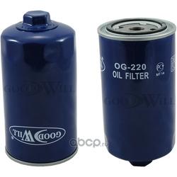 Фильтр масляный двигателя (Goodwill) OG220