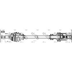 Приводной вал (GSP) 211014