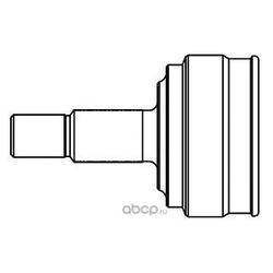 """Шрус внешний с кольцом """"ABS (GSP) 827073"""
