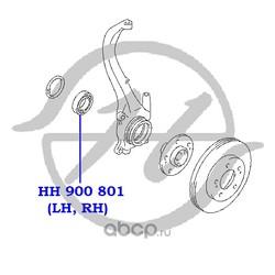 Подшипник ступицы колеса (Hanse) HH900801