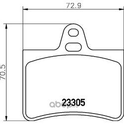 Комплект тормозных колодок, дисковый тормоз (Hella) 8DB355019441