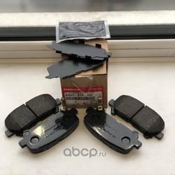 Комплект тормозных колодок, дисковый тормоз (HONDA) 43022STXA01