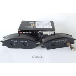 Колодки тормозные дисковые передние к-т (HSB) HP0004
