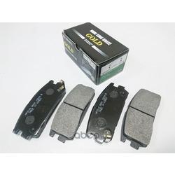 Колодки тормозные дисковые задние к-т (HSB) HP2019