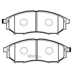 Колодки тормозные дисковые передние к-т (HSB) HP5095