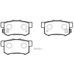 Колодки тормозные дисковые задние к-т (HSB) HP5164