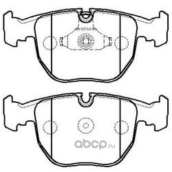 Колодки тормозные дисковые передние к-т (HSB) HP5187