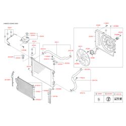 Радиатор конденсатора (Hyundai-KIA) 976062Y501
