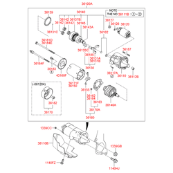СТАРТЕР (Hyundai-KIA) 3610037230