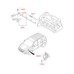 Свеча накаливания (Hyundai-KIA) 367102F000