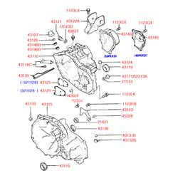 Сальник вала приводного (Hyundai-KIA) 4311921010
