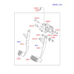 Выключатель стоп-сигналов (Hyundai-KIA) 9381038000