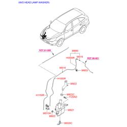 ЩЕТКА СТЕКЛООЧИСТИТЕЛЯ (Hyundai-KIA) 983503J003