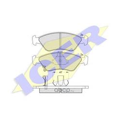 Комплект тормозных колодок, дисковый тормоз (Icer) 181269