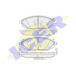 Комплект тормозных колодок, дисковый тормоз (Icer) 182023